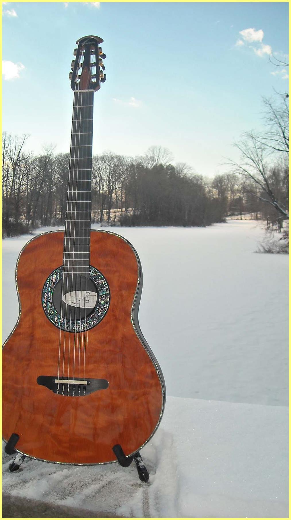 Ovation Redwood Nylon String 1713-X