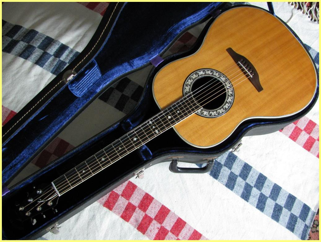 1969 - 1970 Ovation Legend 1117-4 # F-082 with Deluxe ...