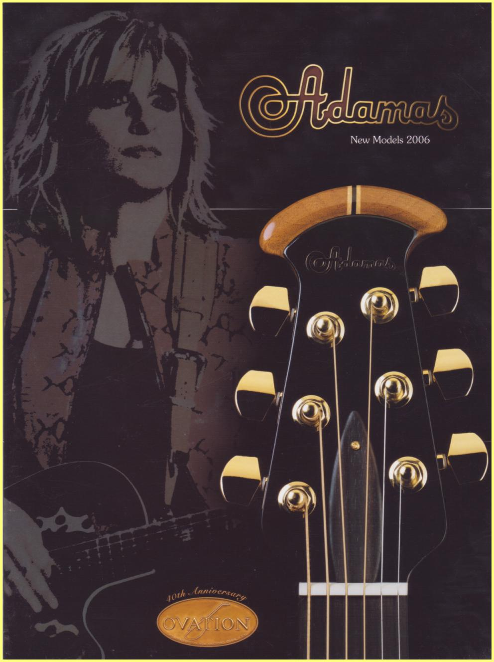 Adamas 2006 new models brochure