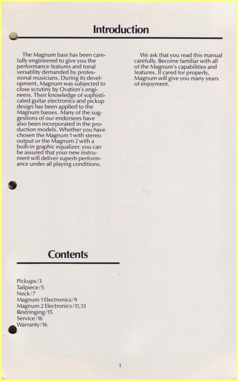 index of catalogues magnum bass owner manual rh ovationtribute com 2005 Magnum Repair Manual 2005 Dodge Magnum Hemi