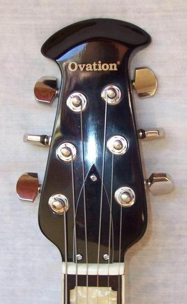 Electric Ovation headstocks