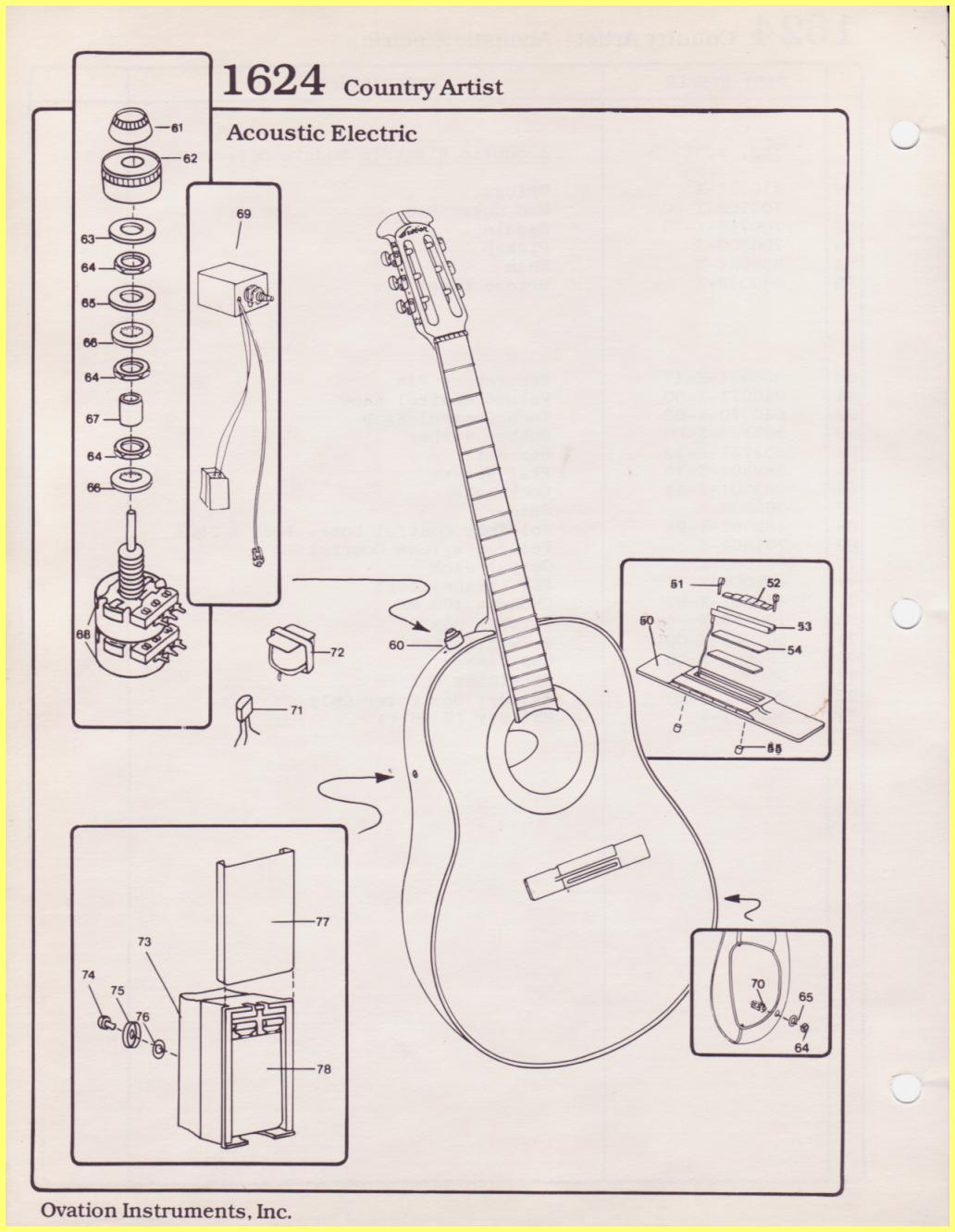 WRG-7489] Acoustic Electric Guitar Wiring Diagram on
