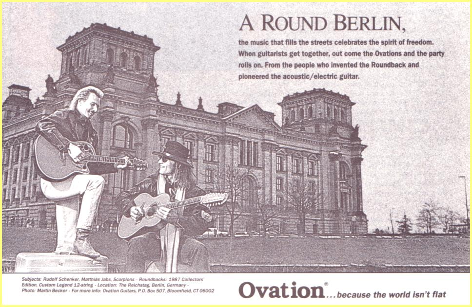 ovation a round berlin us small ad rudolf schenker and matthias jabs scorpions. Black Bedroom Furniture Sets. Home Design Ideas