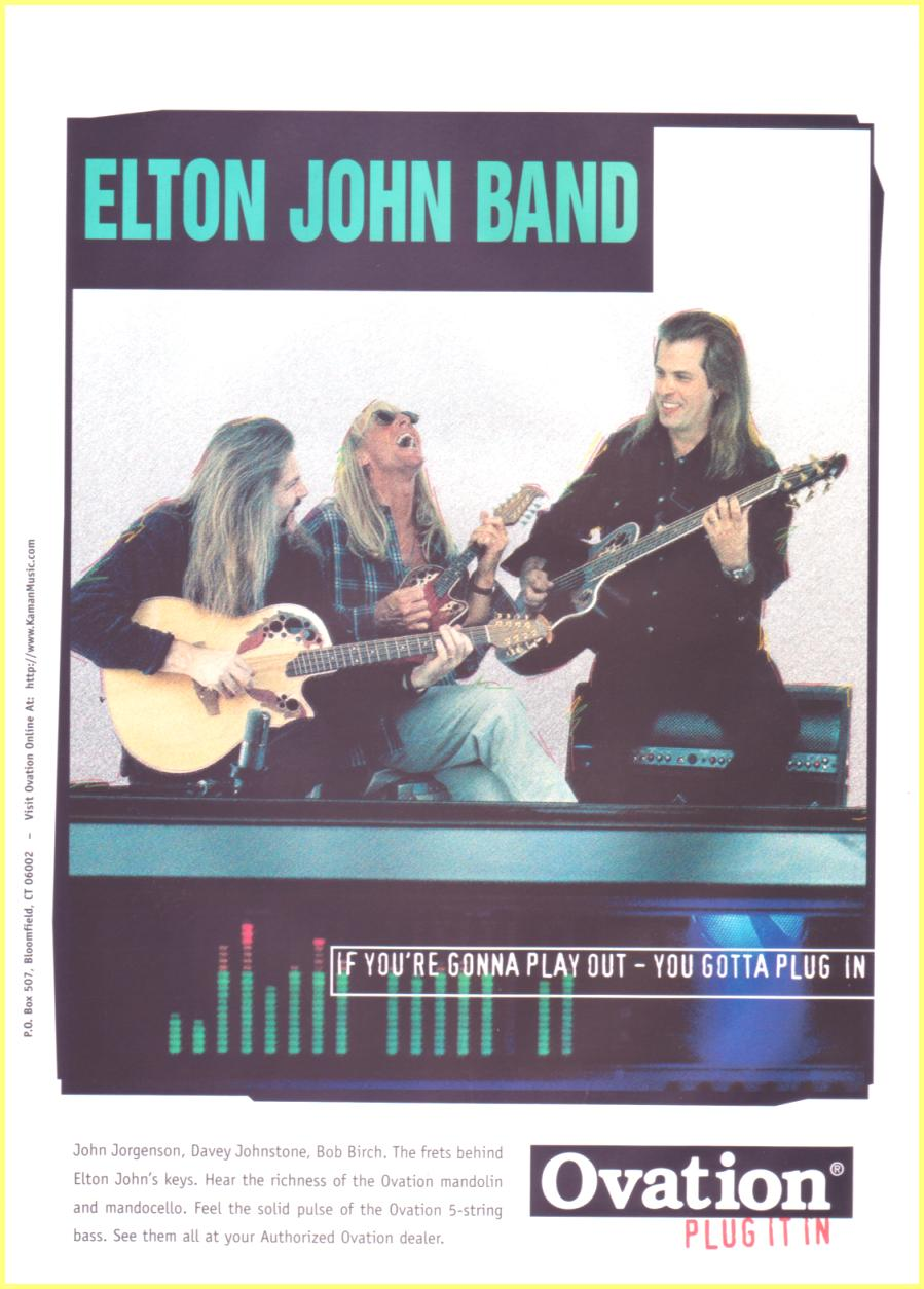 Ovation Elton John Ban...