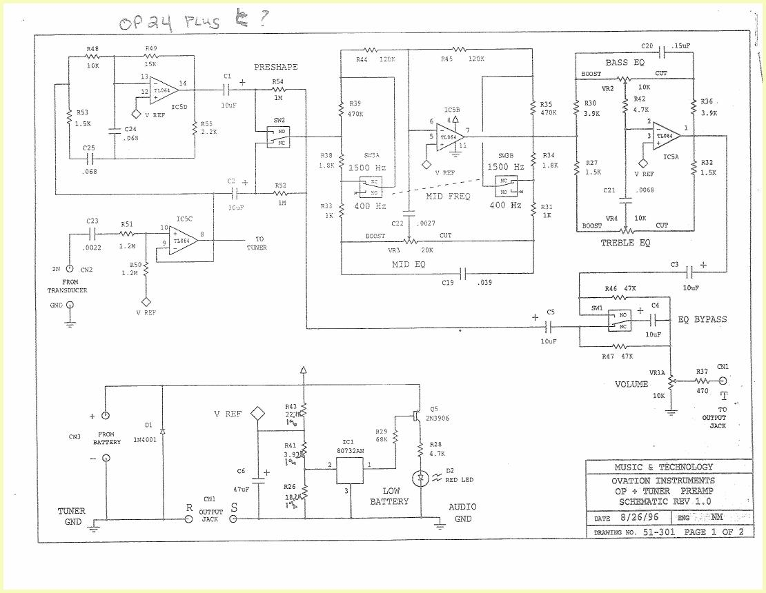 ovation guitar wiring diagram ovation preacher solidbody rh color castles com 95 Dodge Truck Wiring Diagram 95 Dodge Truck Wiring Diagram