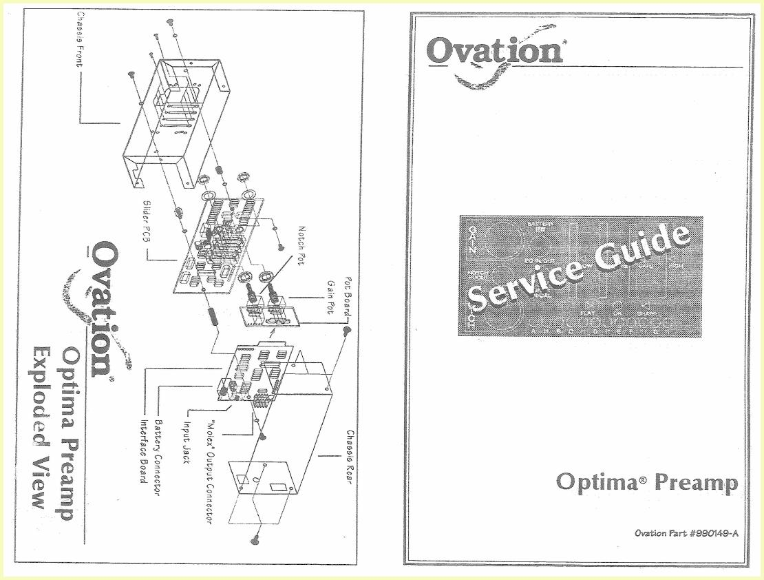 Ovation Preamp Schematic | Wiring Library